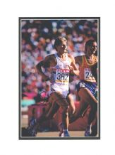 Steve Cram Autograph Signed Photo - Athletics